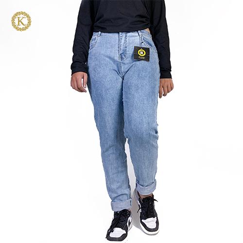 Quần Jean Dài Nữ Lưng Cao Big Size KD02 30-35