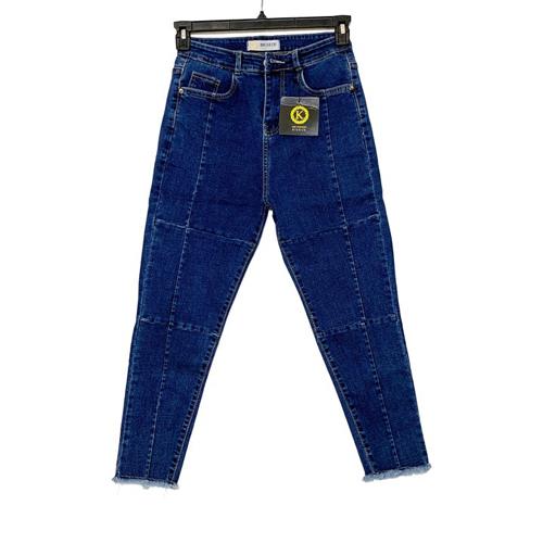 quần jean lửng big size KL01 cho nữ 58 đến 85kg