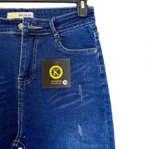 quần jean lửng big size KL02 cho nữ 58 đến 85kg